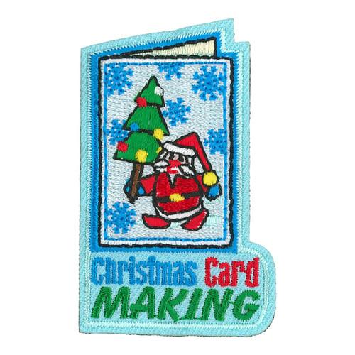 GSRV Christmas Card Making Patch