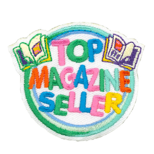 GSRV Top Magazine Seller Patch