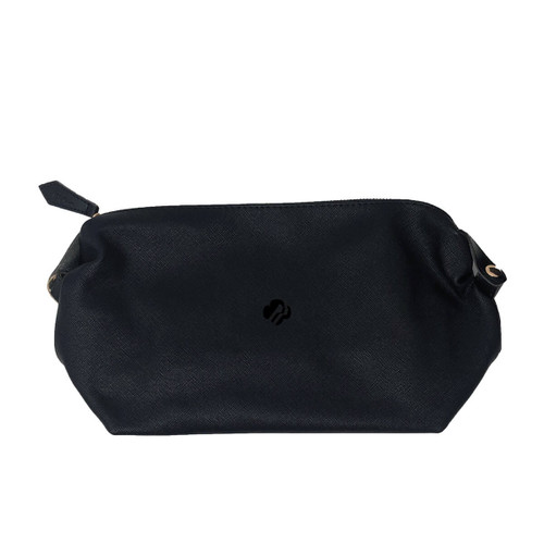 Textured Leatherette Toiletry Bag