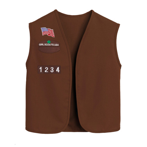 Customized Official Brownie Vest