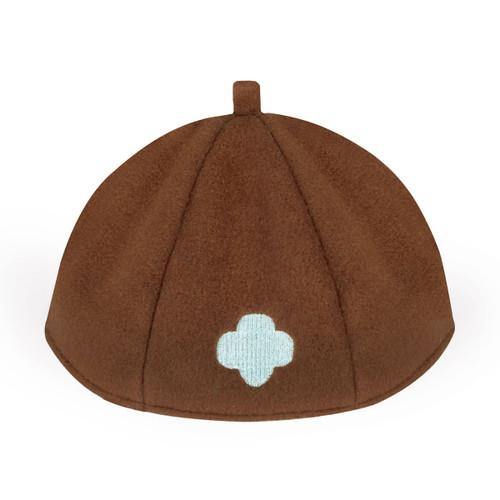 brownie trefoil beanie
