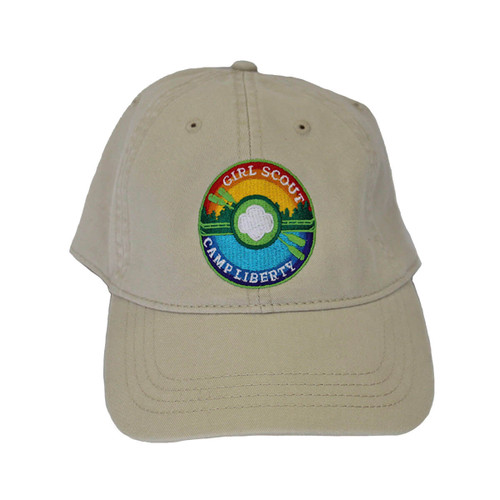GSEIWI ball cap with Camp Liberty p