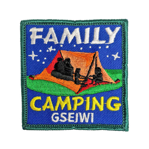 GSEIWI Family Camp Patch
