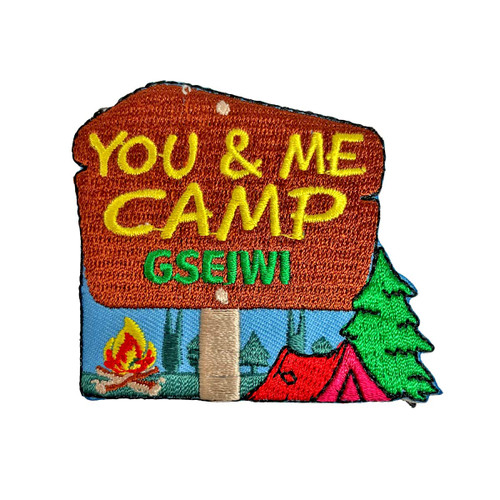 GSEIWI You & Me Camp Patch