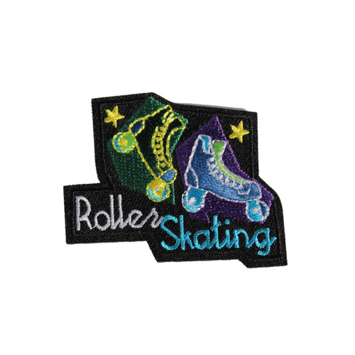 GSEIWI Roller Skating Fun Patch