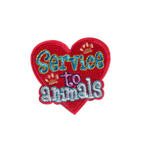 GSEIWI Service to Animals Fun Patch