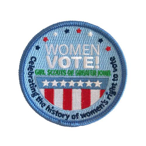 GSGI Women Vote Patch
