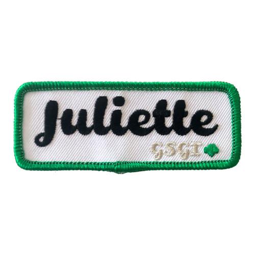 GSGI Juliette Patch