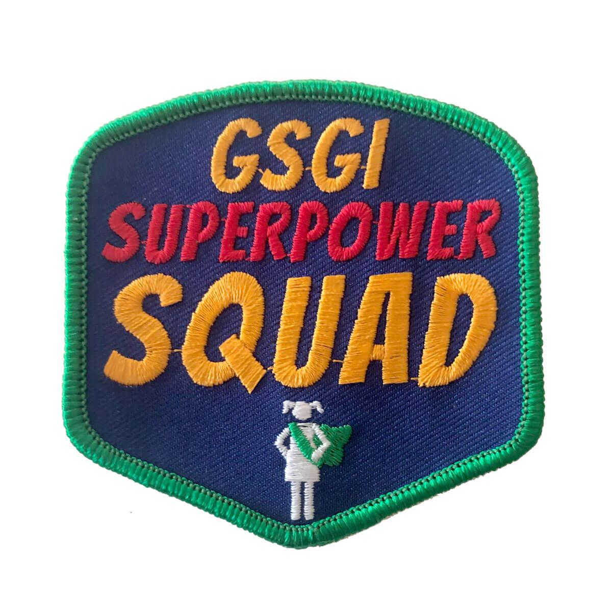 GSGI Super Power Squad Patch