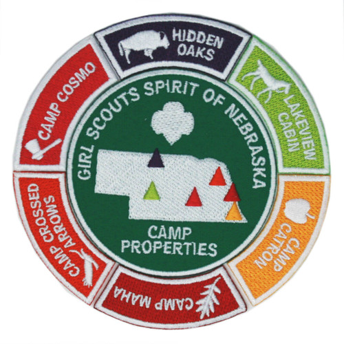 GSSN Explore Your Camp Patch