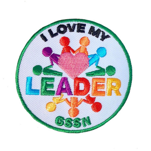 GSSN I Love My Leader Patch