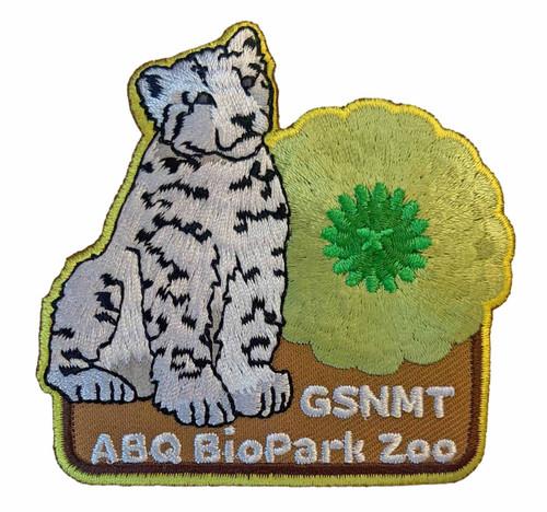 GSNMT ABQ Biopark Patch, Leopard