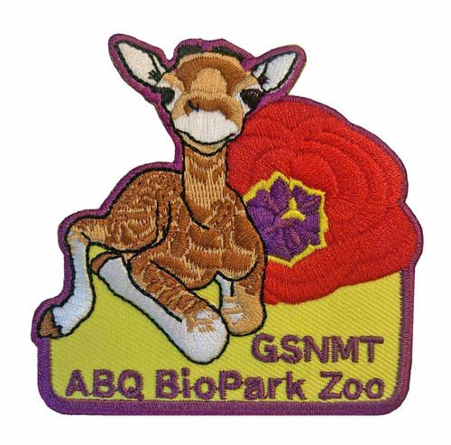 GSNMT ABQ Biopark Patch, Giraffe