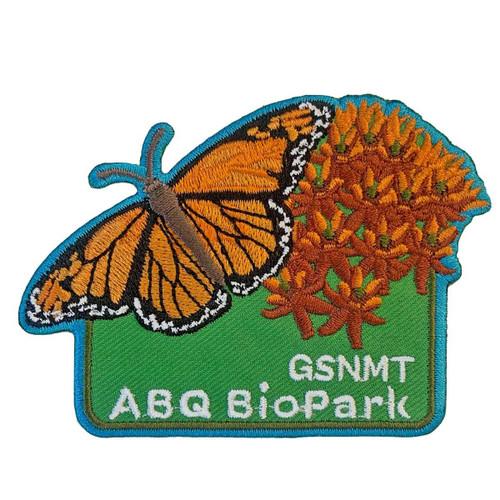 GSNMT ABQ Biopark Patch, Butterfly