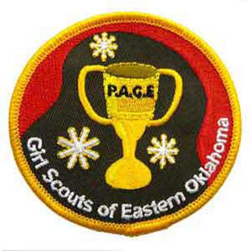 GSEOK P.A.C.E. Award Patch