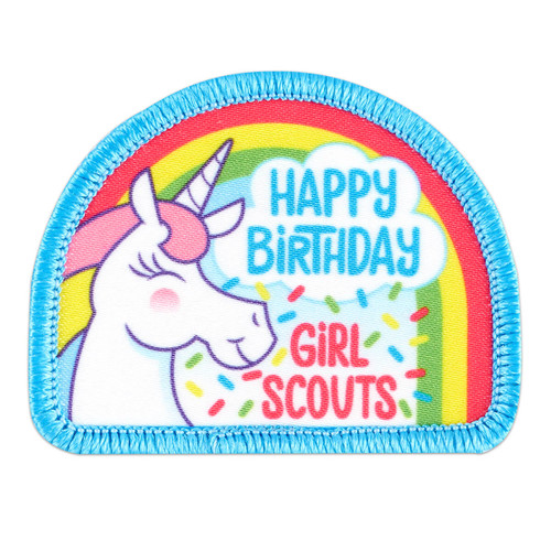 Happy Birthday Unicorn Sew-On Patch