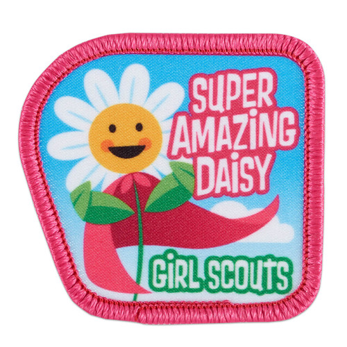 Super Amazing Daisy Sew-On Patch