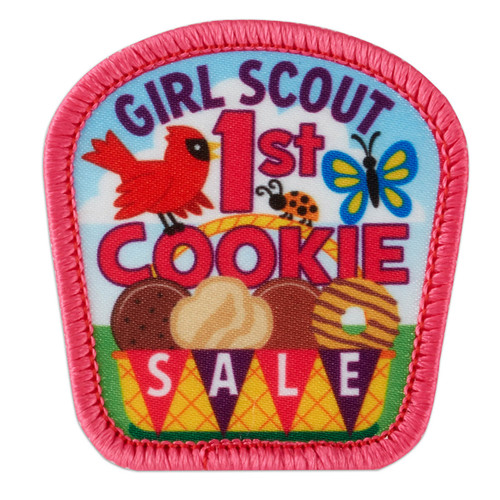 1st Cookie Sale Basket Sew-On Patch