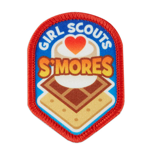 Heart S'mores Sew-On Patch