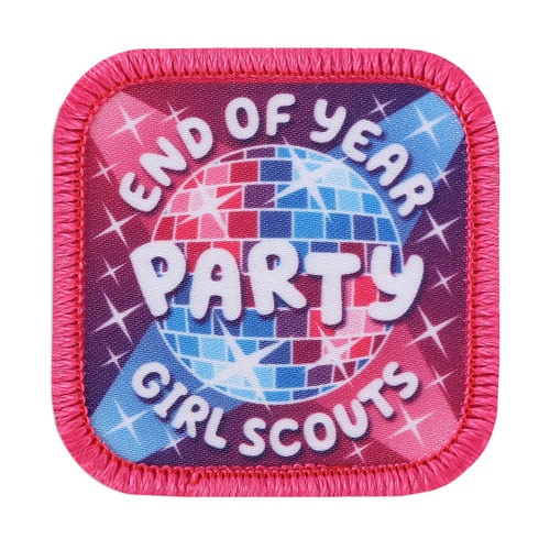 End of Year Party Sew-On Patch