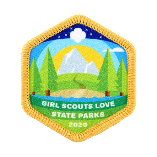 2020 Girl Scouts Love State Parks Patch