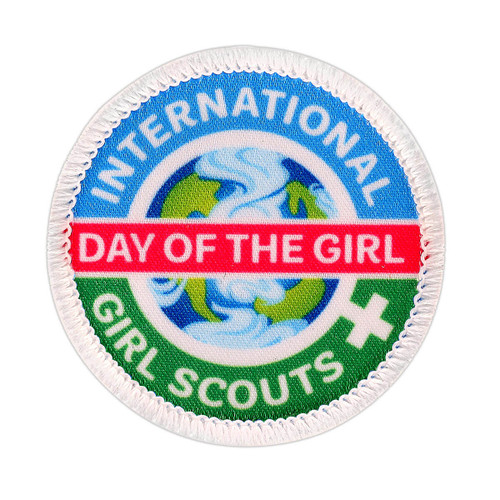 International Day of the Girl Patch