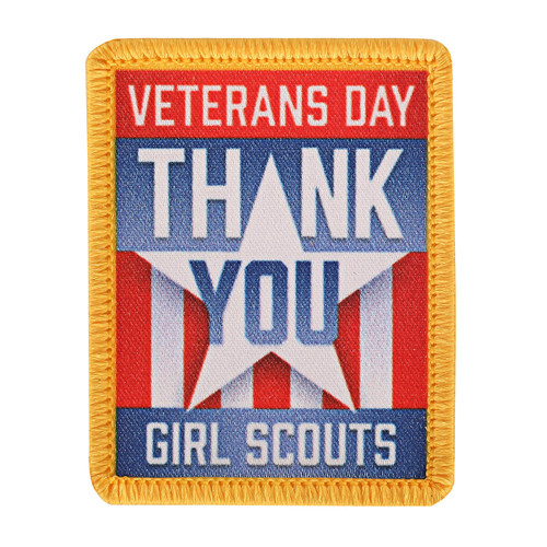 Thank You Veterans Sew-On Patch