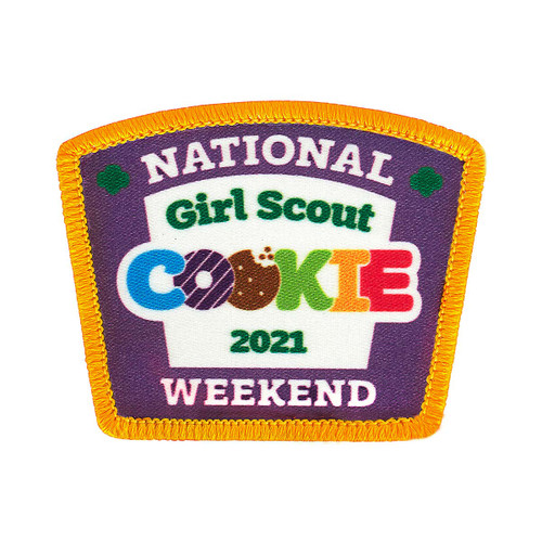 2021 National Cookie Weekend Patch