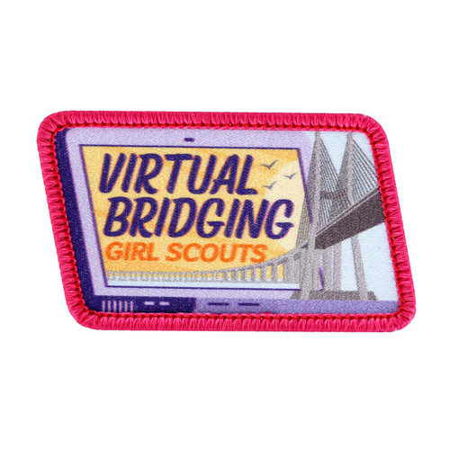 Virtual Bridging Sew-On Patch