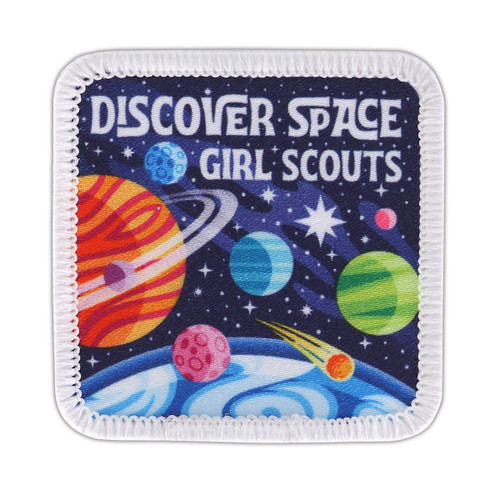 Discover Space Sew-on patch