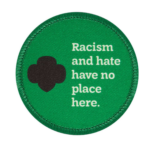 Anti-Racism Sew-On Patch