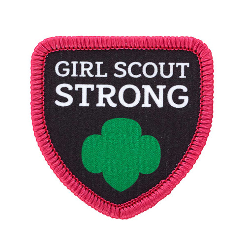 Girl Scout Strong Sew-On Patch