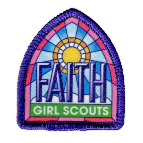 Girl Scouts Celebrate Faith Patch