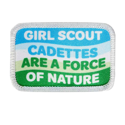 cadettes are a force sew on patch
