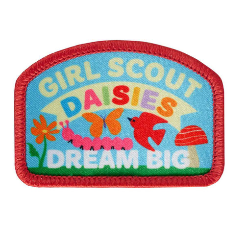 Daisies Dream Big Sew-On Patch