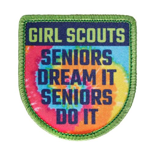 Seniors Dream It Sew-On Patch