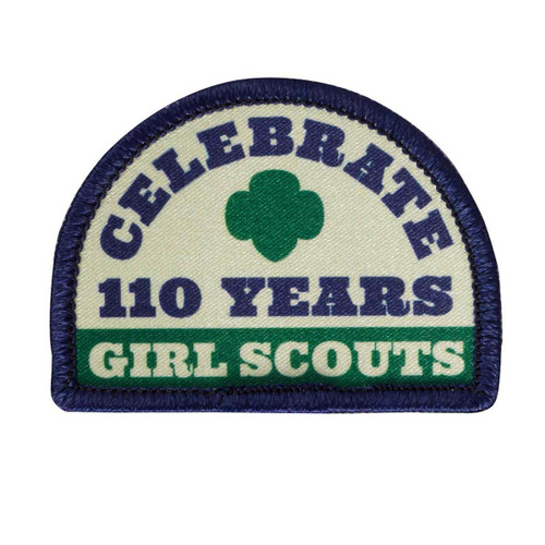 Celebrate 110 Years Sew on patch