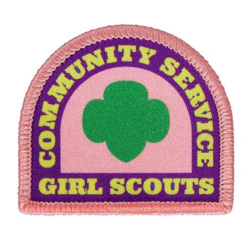 Community Service Sew-On Patch
