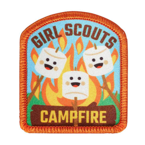 Campfire Smiles Sew-On Patch