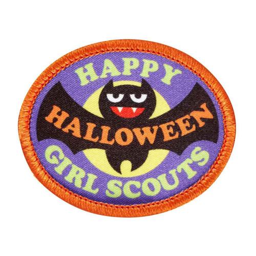 Happy Halloween Bat Sew-On Patch