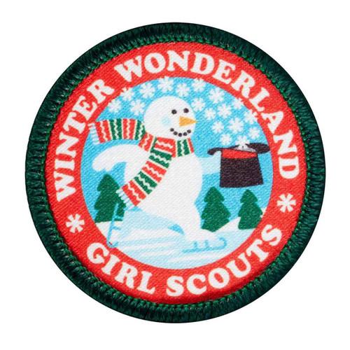 Winter Snowman Sew-On Patch