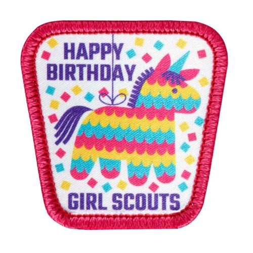 Happy Birthday Pinata Sew-On Patch
