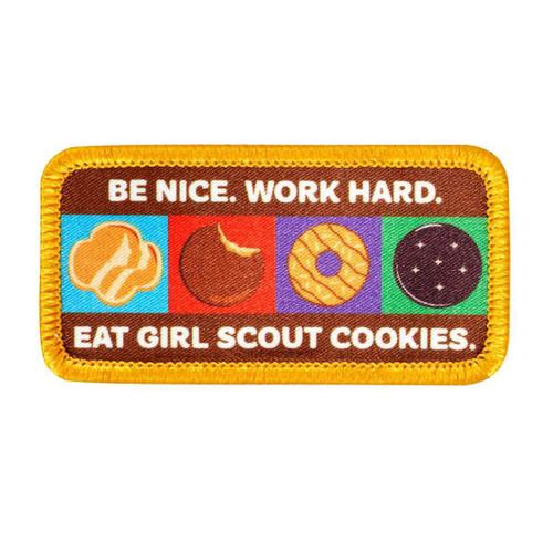 Be Nice Work Hard Eat Cookies Sew-O