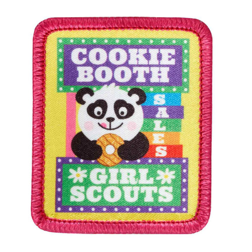 Cookie Booth Panda Sew-On Patch