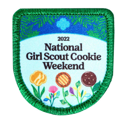 National GS weekend sew on patch