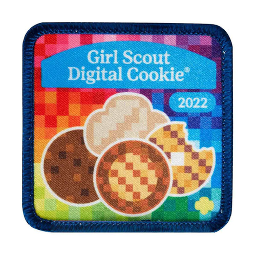 2022 digital cookie sew on patch