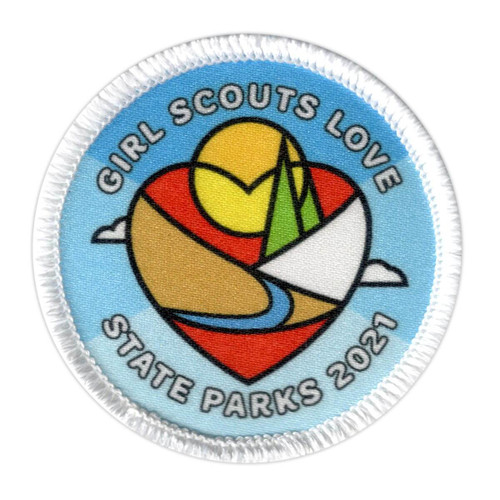 Girl Scouts Love State Parks Patch 2021