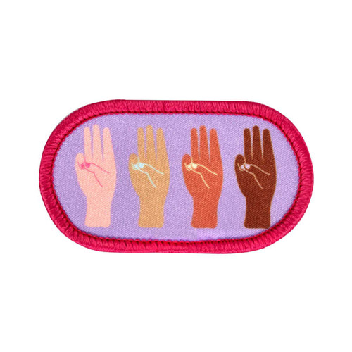 Girl Scout Promise Sew-On Patch