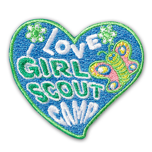 I love Girl Scout Camp