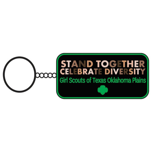 GS-TOP Stand Together Keychain